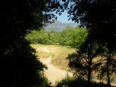 Oak Grove (Hahamongna Park), Main course, Hole 5 Tee pad