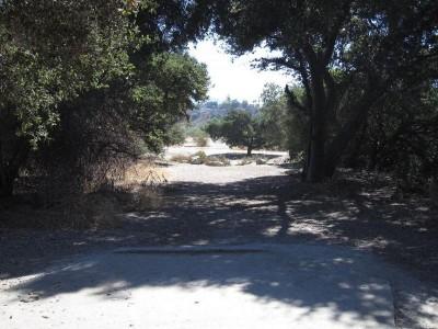 Oak Grove (Hahamongna Park), Main course, Hole 12 Tee pad