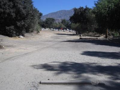 Oak Grove (Hahamongna Park), Main course, Hole 8 Tee pad