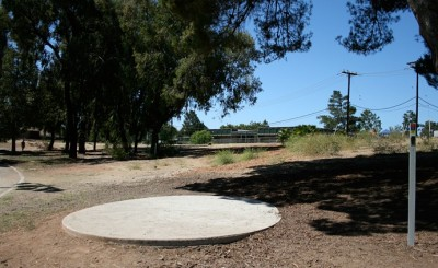 Thousand Oaks Community Center, Rabbit Flats, Hole 2 Tee pad