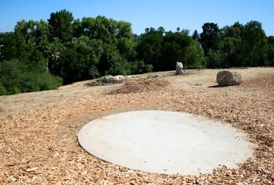 Thousand Oaks Community Center, Rabbit Flats, Hole 4 Tee pad