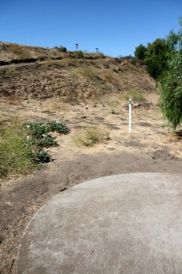 Thousand Oaks Community Center, Rabbit Flats, Hole 5 Tee pad