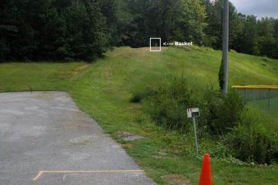 Civitan Park, Greg Carter Course, Hole 11 Short tee pad