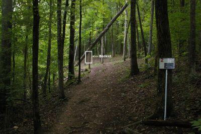 Civitan Park, Greg Carter Course, Hole 2 Short tee pad