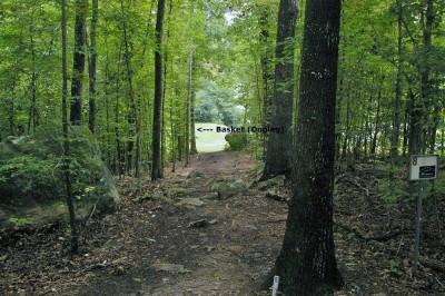Civitan Park, Greg Carter Course, Hole 8 Short tee pad
