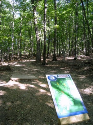 Liberty University, Main course, Hole 3 Short tee pad