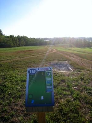 Liberty University, Main course, Hole 18 Short tee pad