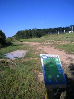 Liberty University, Main course, Hole 14 Long tee pad