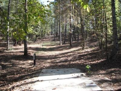 Indian Creek, Main course, Hole 18 Long tee pad