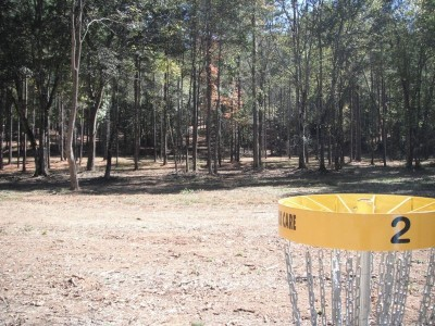 Indian Creek, Main course, Hole 2 Reverse (back up the fairway)