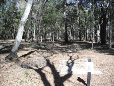 Indian Creek, Main course, Hole 3 Long tee pad