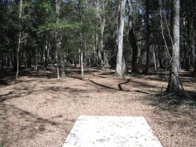 Indian Creek, Main course, Hole 4 Tee pad