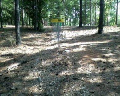 Indian Creek, Main course, Hole 18 Short approach