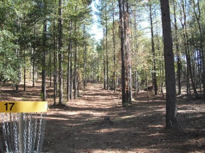 Indian Creek, Main course, Hole 17 Reverse (back up the fairway)