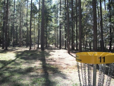 Indian Creek, Main course, Hole 11 Reverse (back up the fairway)