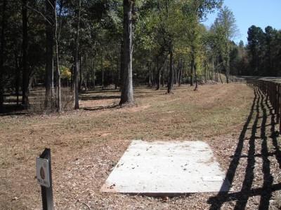 Indian Creek, Main course, Hole 8 Long tee pad