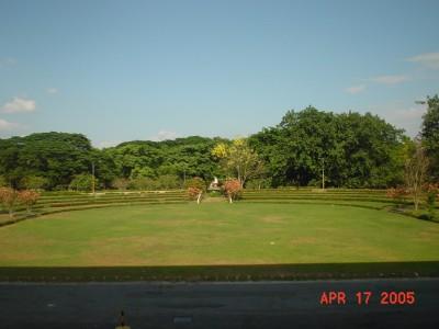 University of the Philippines, Sunken Garden, Hole 10 Long tee pad