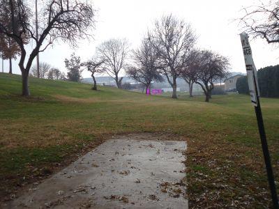 Sunset Park, Main course, Hole 7 Tee pad