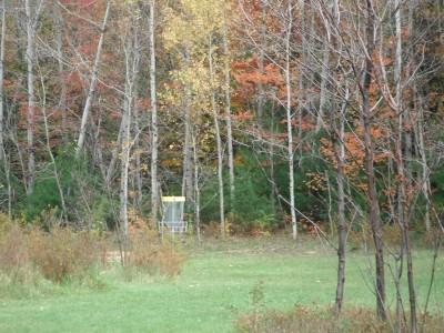 Cadyville Recreation Park, Cadyville DGC, Hole 6 Midrange approach