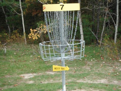 Cadyville Recreation Park, Cadyville DGC, Hole 7 Putt