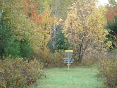 Cadyville Recreation Park, Cadyville DGC, Hole 14 Short approach