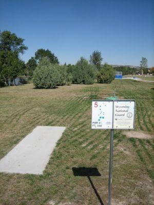 West Park, West Park, Hole 5 Tee pad