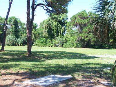 Maximo Park, Main course, Hole 9 Long tee pad