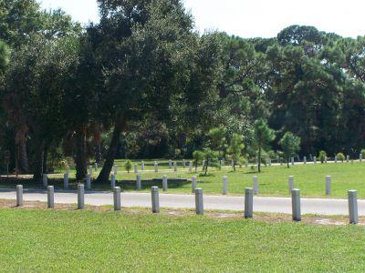 Maximo Park, Main course, Hole 14 Long tee pad