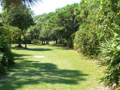 Maximo Park, Main course, Hole 10 Long tee pad