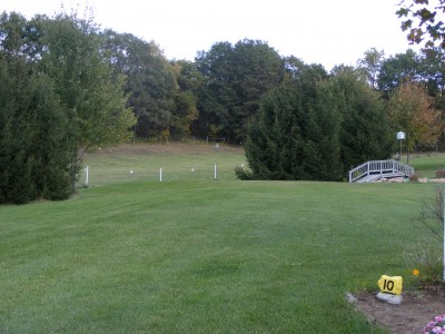 The Switchback, Switchback, Hole 10 Tee pad