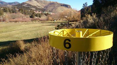 Lava Hot Springs Park, Lava Lion's Club Course, Hole 6 Reverse (back up the fairway)