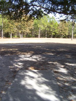 Ronnie Van Zant Memorial Park, Main course, Hole 9 Tee pad