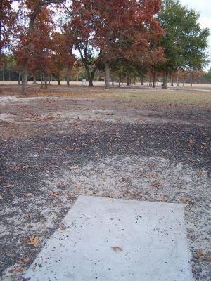 Ronnie Van Zant Memorial Park, Main course, Hole 16 Tee pad