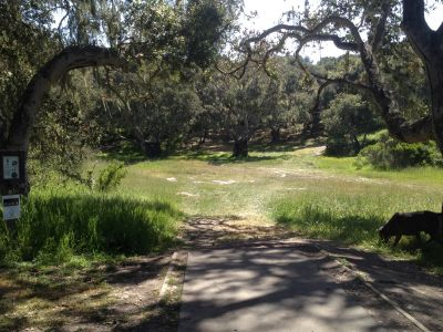 Ryan Ranch, Main course, Hole 4 Tee pad