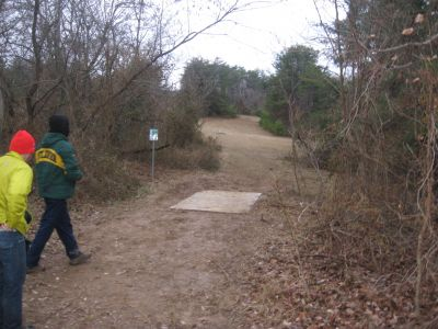 Garry Cavan Park, Seviren Lang DGC, Hole 7 Long tee pad