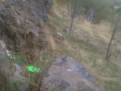 Jokers Peak, Main course, Hole 9 Putt