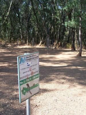 Enterprise Community Park, Main course, Hole 1 Hole sign