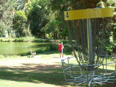 Ford Park, Main course, Hole 4 Reverse (back up the fairway)