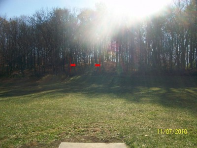 Fairborn Community Park, Handyman Ace Hardware DGC, Hole 1 Short tee pad
