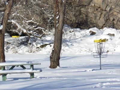 Rock Creek, Winter course, Hole 4