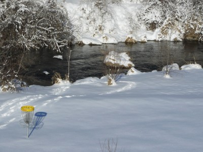 Rock Creek, Winter course, Hole 1