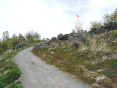 Rock Creek, Winter course, Hole 18
