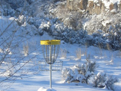 Rock Creek, Winter course, Hole 18 Reverse (back up the fairway)