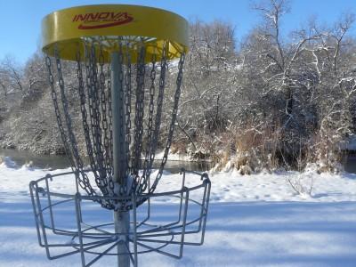Rock Creek, Winter course, Hole 8