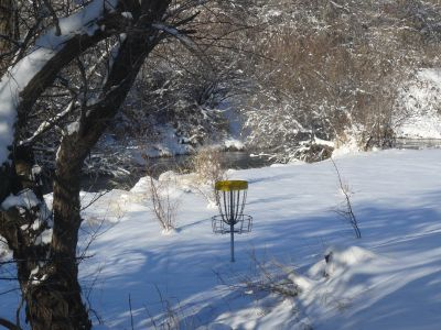 Rock Creek, Winter course, Hole 6 Reverse (back up the fairway)