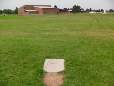 O'Leary Junior High School, Main course, Hole 4 Tee pad