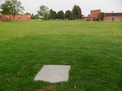 O'Leary Junior High School, Main course, Hole 9 Tee pad