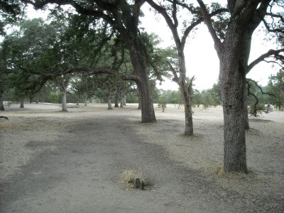 Rocklin Disc Golf Course, Main course, Hole 5 Tee pad