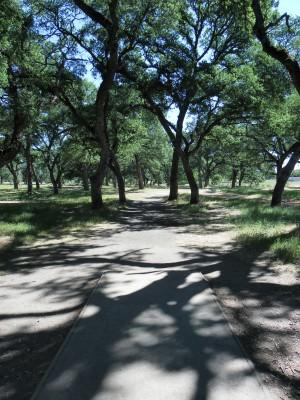 Rocklin Disc Golf Course, Main course, Hole 11 Tee pad
