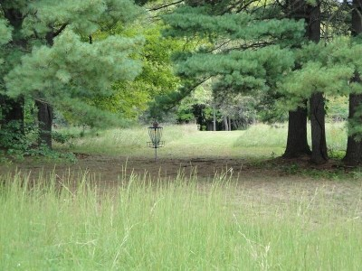 Pymatuning State Park, Main course, Hole 13 Short approach